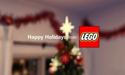 LEGO beautiful family story